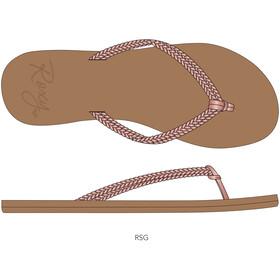 Roxy Costas Sandalias Mujer, beige/rosa
